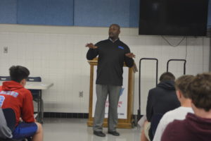 Football team welcomes new coach